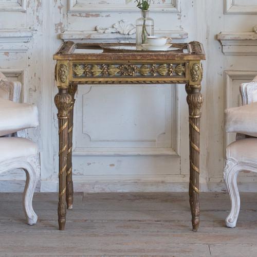Antique Napoleon III Vitrine Side Table TSVN25083