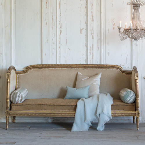 Antique Napoleon III Daybed DVN25086