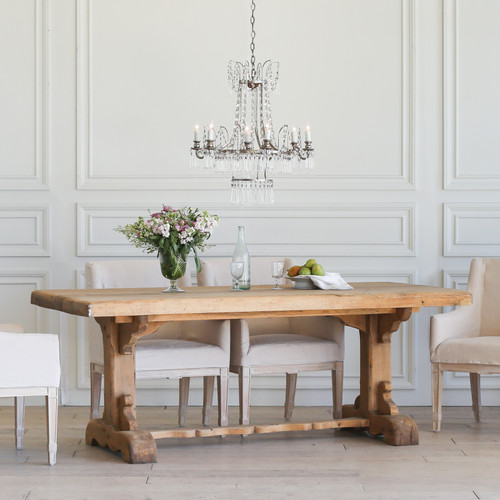 Antique Dutch Dining Table TDVN25095