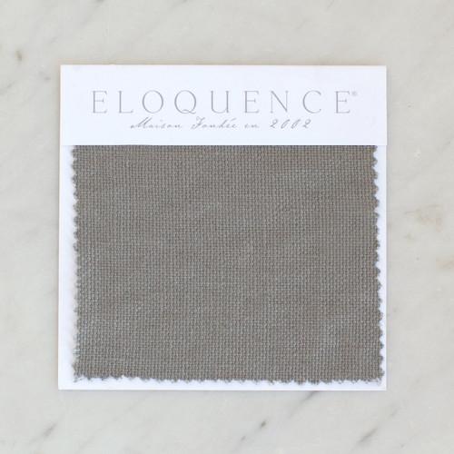 Eloquence® Upholstery Sample in Slate Grey Linen