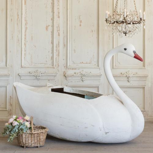 Grande Vintage Decorative Swan OBVN26016