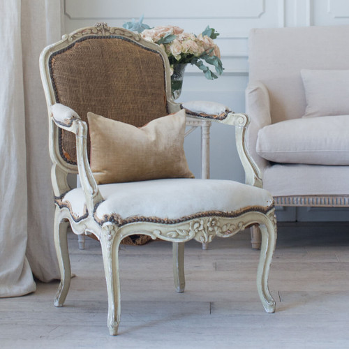 Pair of Antique Louis XV Armchairs AVN26077-1