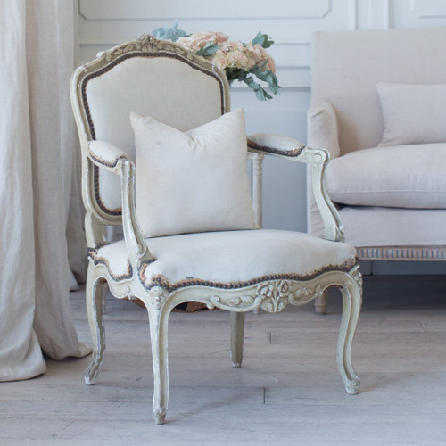 Pair of Antique Louis XV Armchairs AVN26077-2