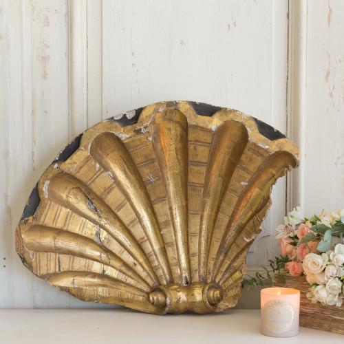 Antique Gilt Architectural Shell OBVN26082
