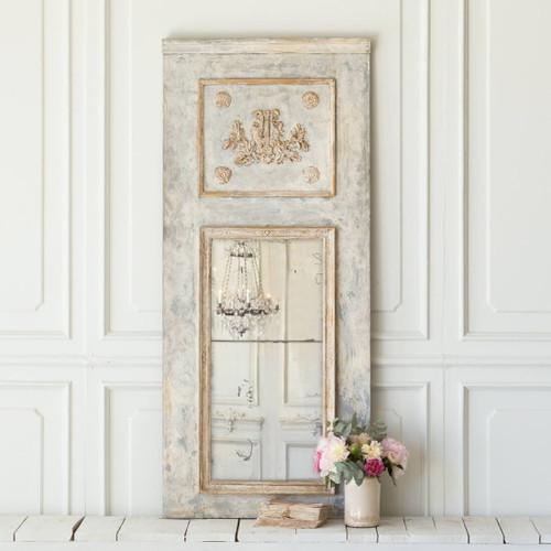 Antique Skinny Trumeau Mirror MVP16901