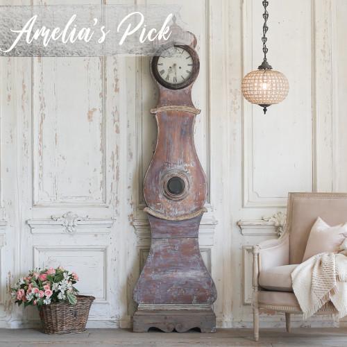 Antique Swedish Mora Clock CKVP22009