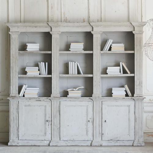Antique Neo Classical Bookcase BKVP22013