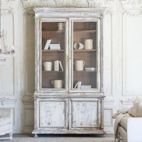 Antique Library Cabinet from Brussels CBVN27023-1
