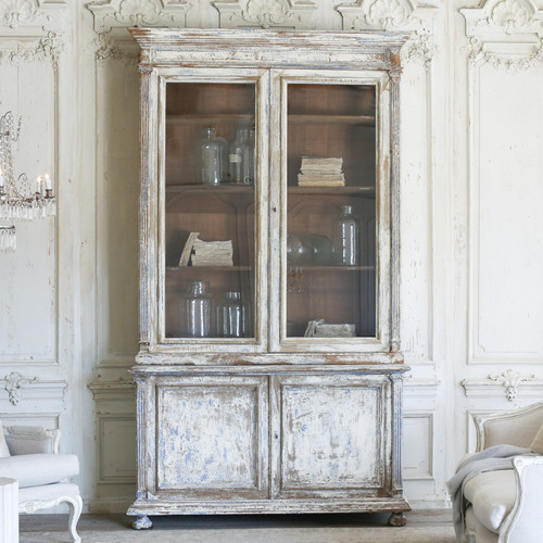 Antique Library Cabinet from Brussels CBVN27023-2