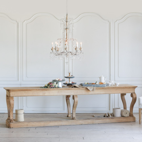 Antique Belgian Hunting Table TVN27053