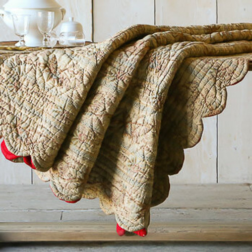 Vintage French Boutis Quilt OBVP05079