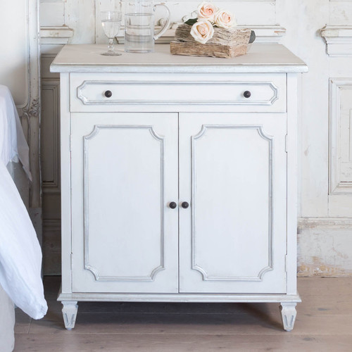 Eloquence® Royale Cabinet in Silver Highlight Finish