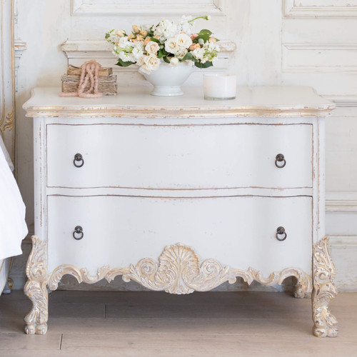 Eloquence® Roma Commode in Gold Two-Tone Finish