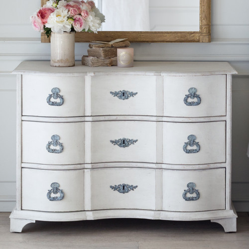 Eloquence® Amboise Commode in Warm White Finish