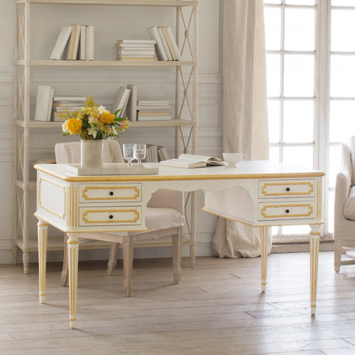 Eloquence® Coco Madame Desk in Gilt Highlight Finish