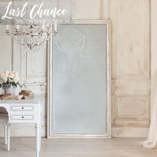 Eloquence® Eugenie Chalk Frame in Silver and Stone Finish