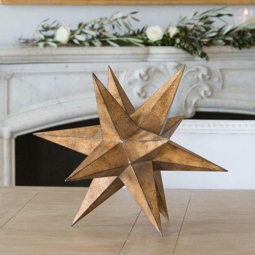 Eloquence® Decorative Stella in Old World Gold Finish