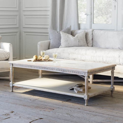 Eloquence® Grande Le Courte Coffee Table in Beach House Natural Finish