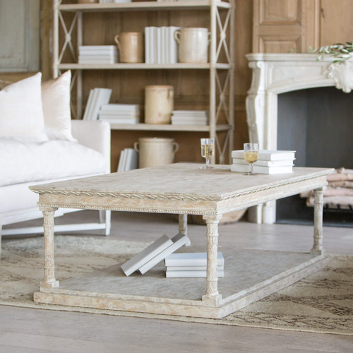 Eloquence® Gustav Coffee Table in Oak Driftwood Finish