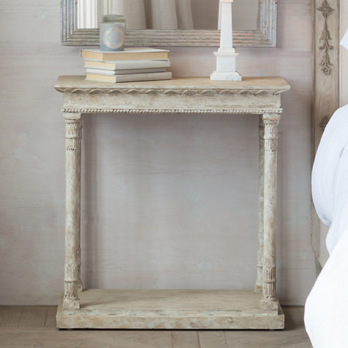 Eloquence® Gustav Side Table in Oak Driftwood Finish