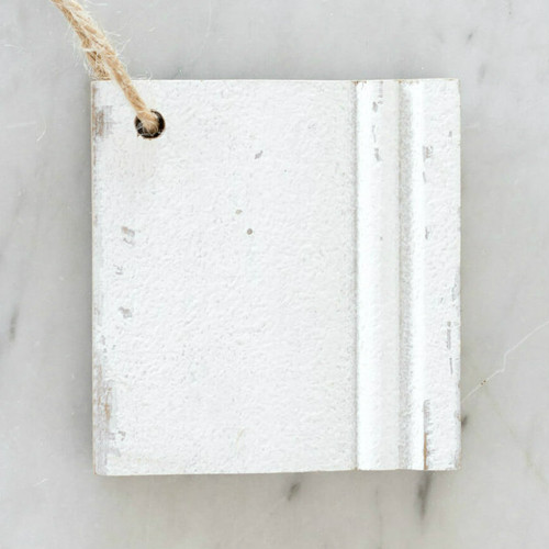 Eloquence® Wood Finish Sample in Weathered White Finish