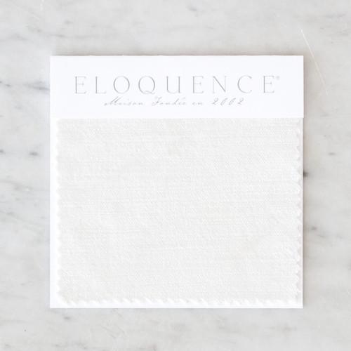 Eloquence® Upholstery Sample in Ivory Velvet