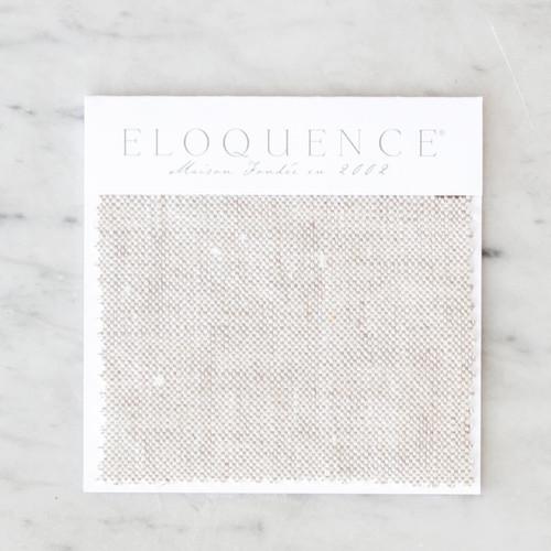 Eloquence® Upholstery Sample in Fog Linen