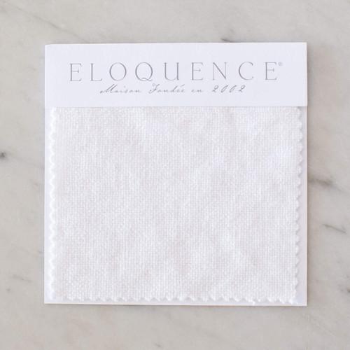 Eloquence® Upholstery Sample in Whispy White Linen