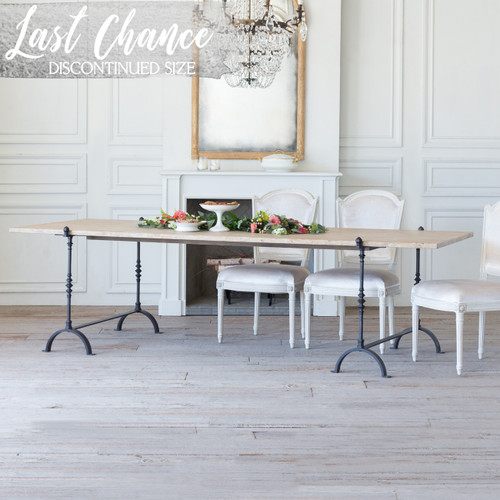 Eloquence® Grande St. Remy Table in Farmhouse Oak Finish