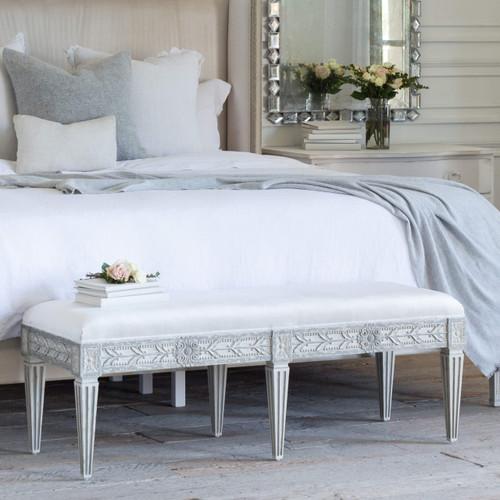 Pleasant Bedroom Benches Chaises Eloquence Machost Co Dining Chair Design Ideas Machostcouk