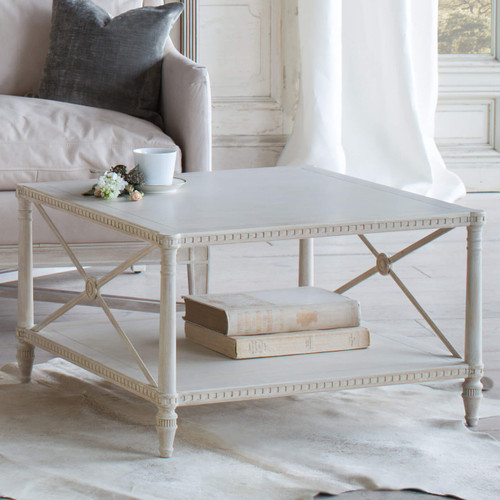 Eloquence® Tresor Coffee Table in Provencal White Finish