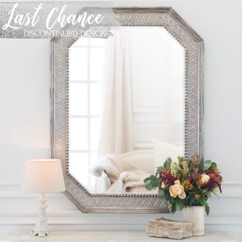 Eloquence® Bijoux Mirror in Antique Silver Finish