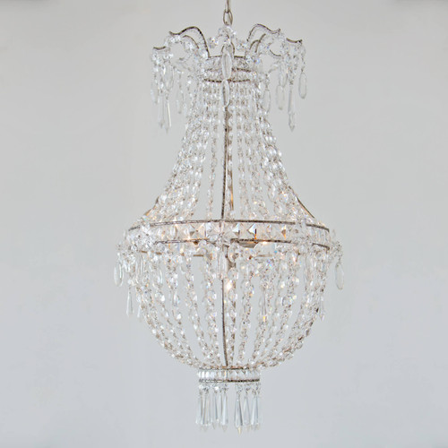 Eloquence® Rocca Chandelier in Silver Finish
