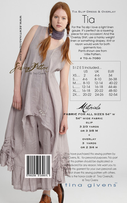 TG-A7080 TIA SLIP AND OVERLAY