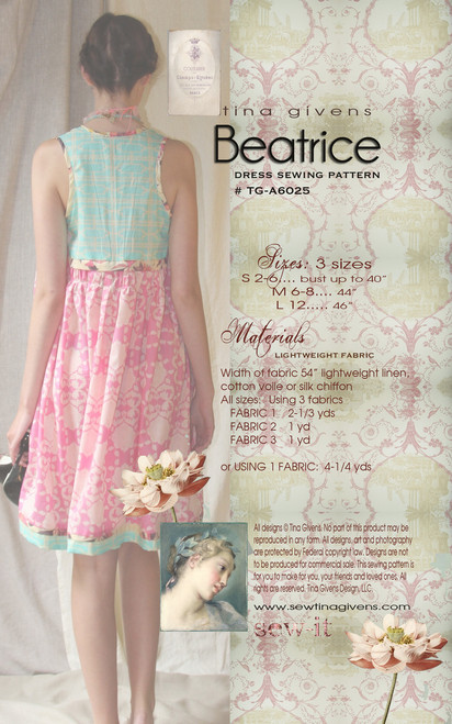 Beatrice Dress TG-A6025 DIGITAL