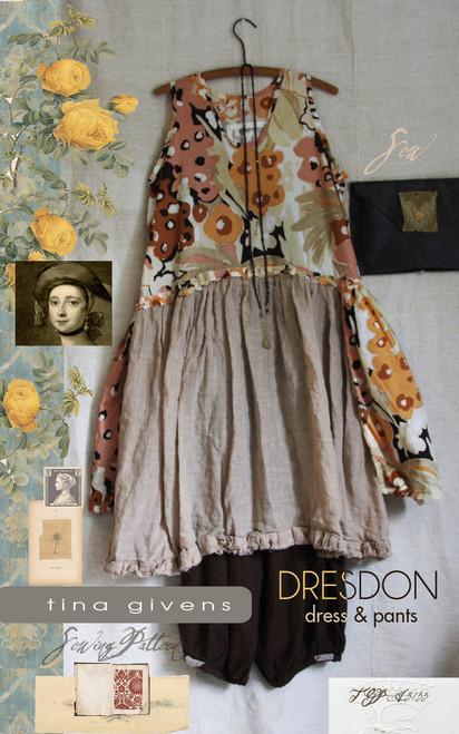 Dresdon Dress PRINT TG-A3133