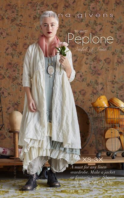 Peplone Jacket PRINT TG-A6027