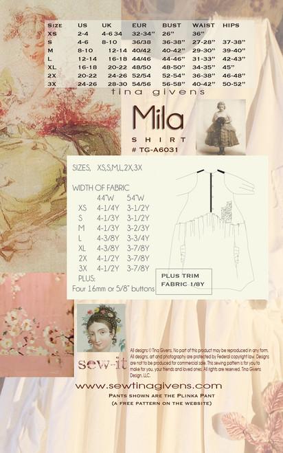 Mila Shirt TG-A6031 DIGITAL