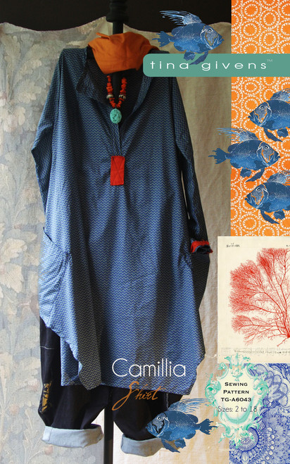 CAMILLIA SHIRT 6043 Print