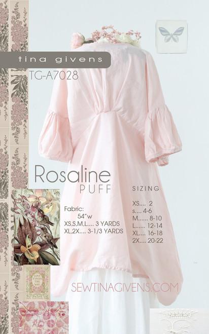 ROSALINE PUFF TG-A7028 Print