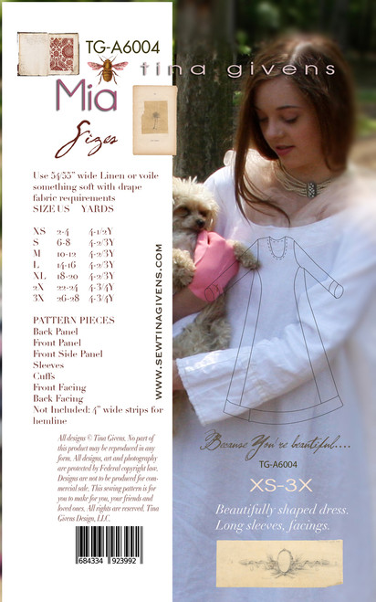 Mia Dress PRINT TG-A6004
