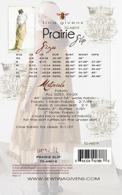 Prairie Slip Dress PRINT TG-A6019
