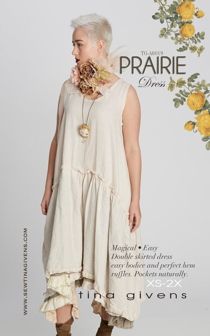 Prairie Slip Dress PRINT TG-A6019