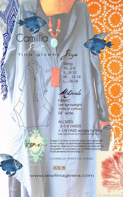 CAMILLIA SHIRT 6043 DIGITAL