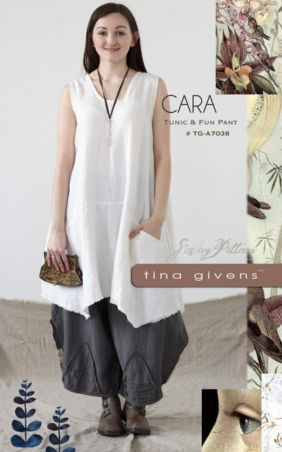 CARA TUNIC AND PANT DIGITAL TG-A7038
