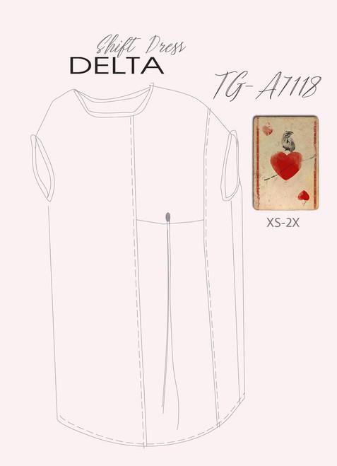 Delta Shift Dress TG-A7118 DIGITAL