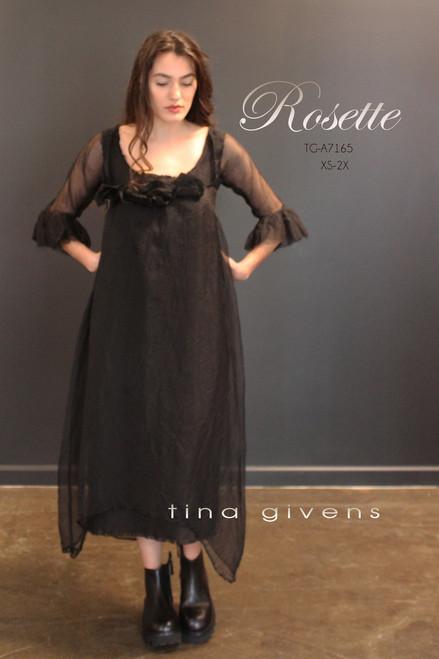 ROSETTE DRESS TG-P7165