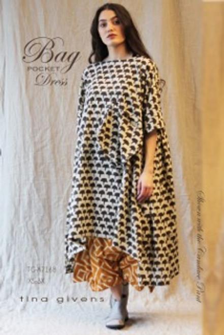 BAG DRESS TG-A7168  PRINT