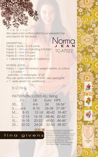 NORMA JEAN  TG-P7022 PDF