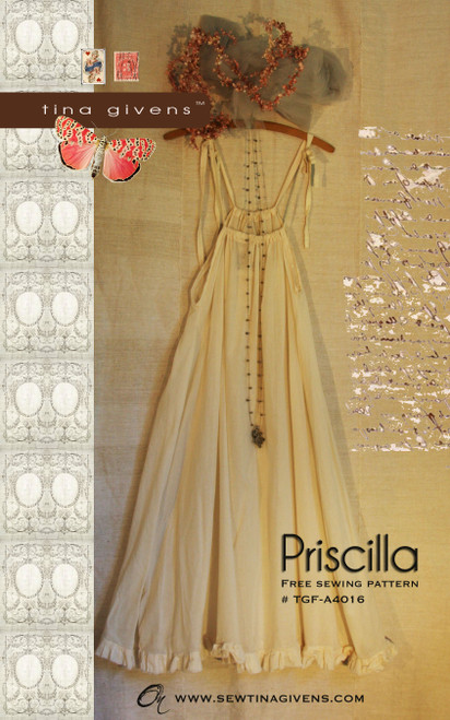 PRISCILLA Slip Dress